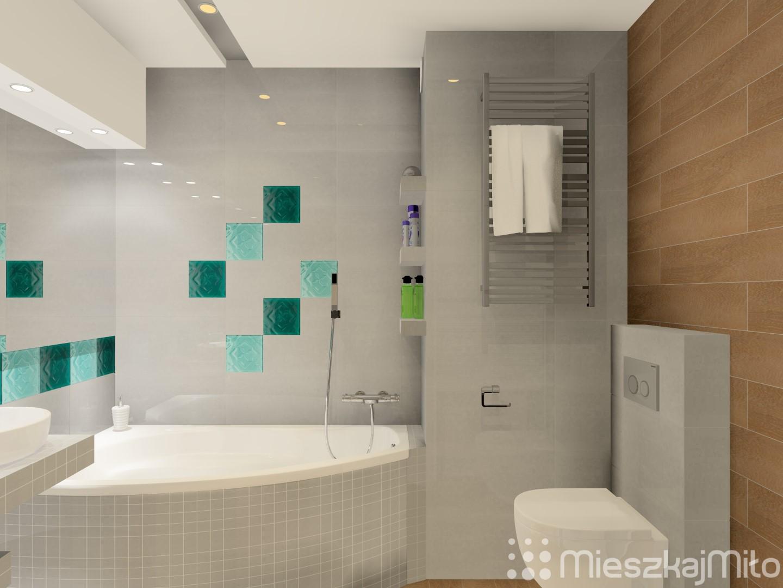 Aranżacja łazienki Z Wanną Mieszkaj Miło Aranżacja