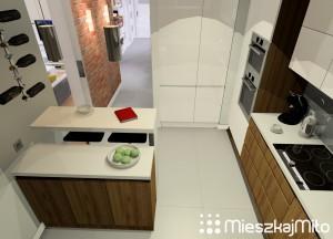 kuchnia w nowym mieszkaniu