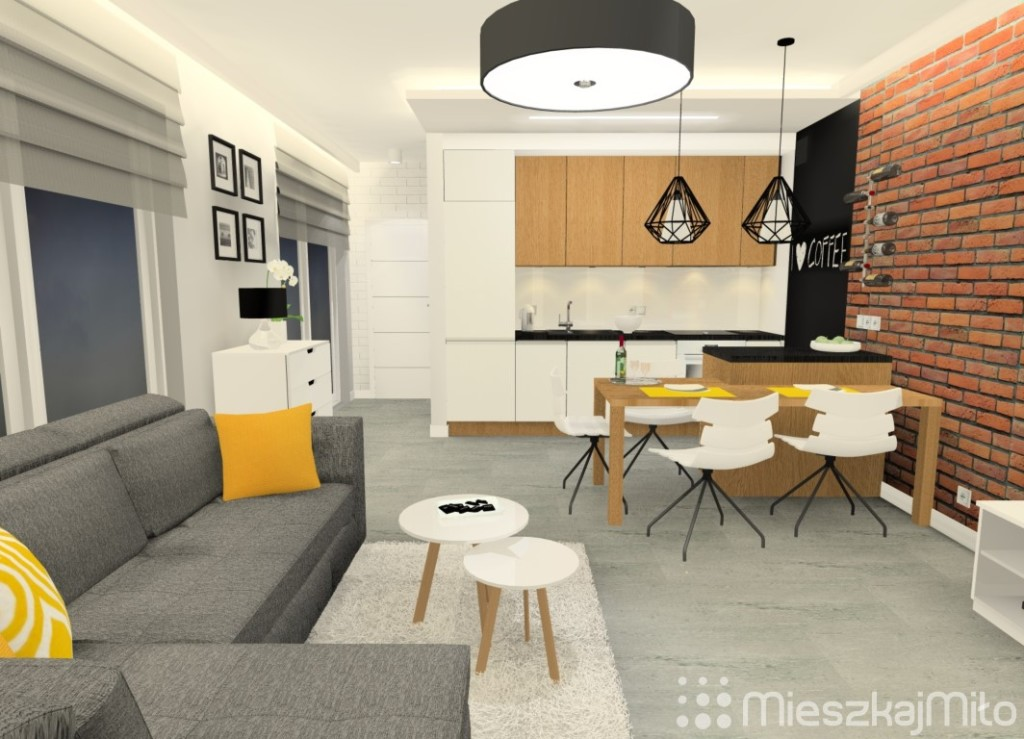 Salon Z Aneksem Kuchennym 238m² świeradów Zdrój Mieszkaj Miło