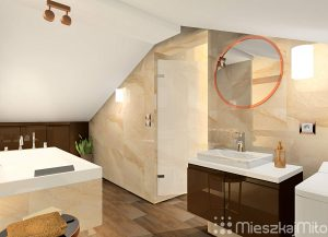 Łazienki w domu