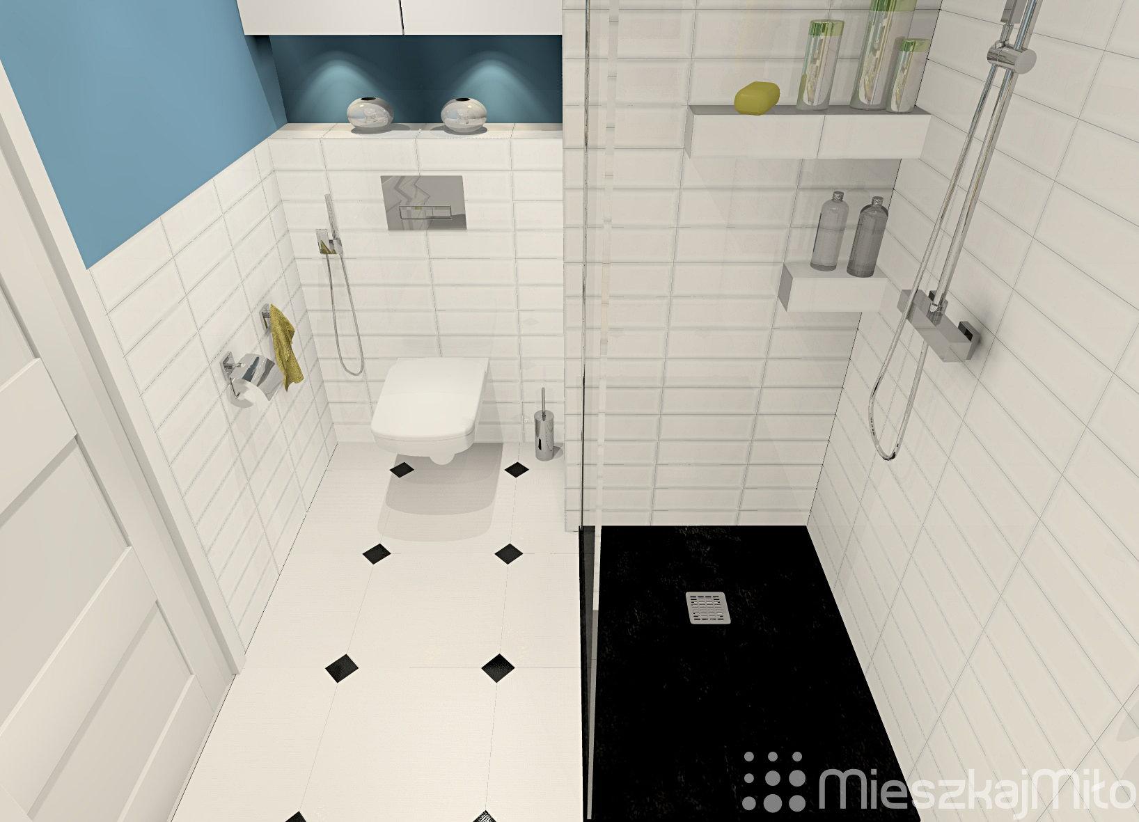 Aranżacja łazienki W Bloku Mieszkaj Miło Aranżacja Wnętrz Na