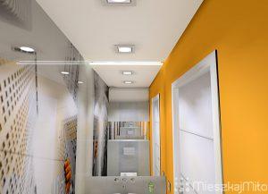 Kolor pomarańczowy w łazience