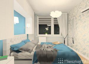 Zabudowa meblowa w sypialni
