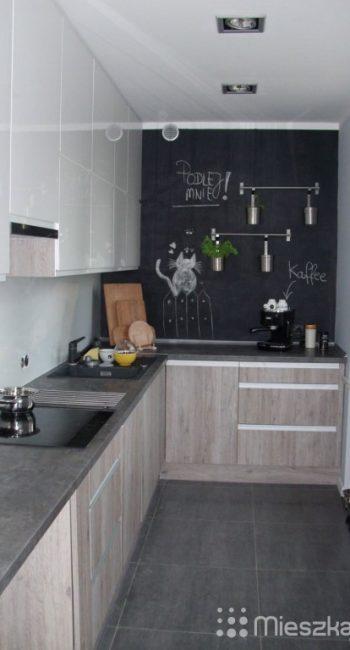 farba tablicowa w kuchni