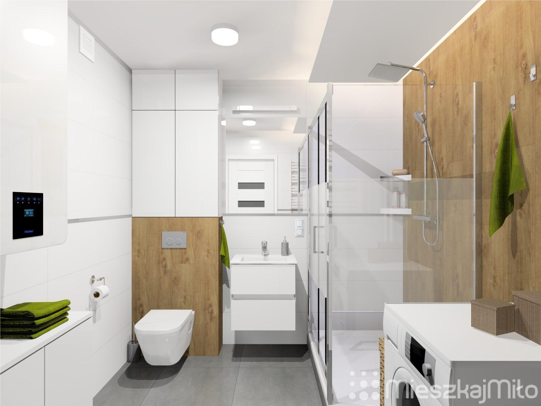 Projekt Mieszkania W Bloku Z Wielkiej Plyty 57 M Dabrowa Gornicza