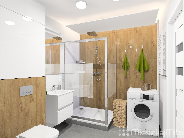 Projekt Mieszkania W Bloku Z Wielkiej Płyty 57 M² Dąbrowa