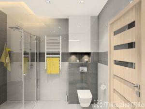 Aranżacja łazienki Mieszkaj Miło Aranżacja Wnętrz Na