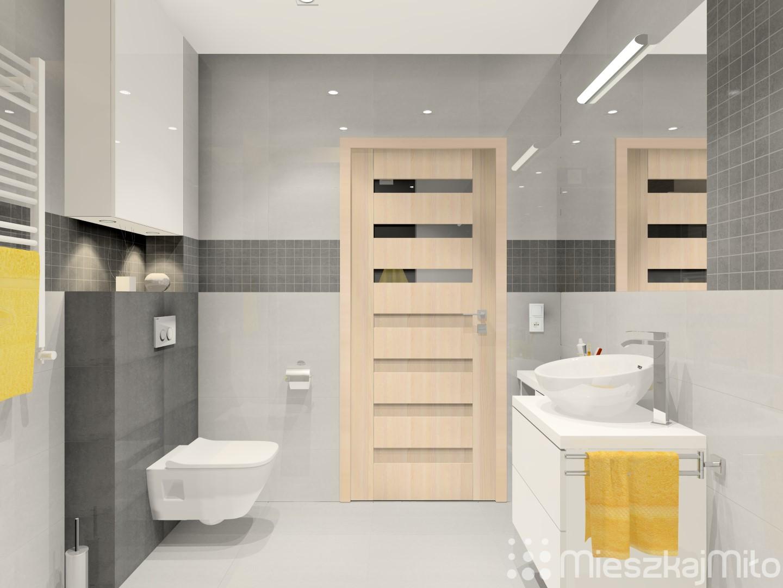 Aranżacja łazienki Z Prysznicem Mieszkaj Miło Aranżacja