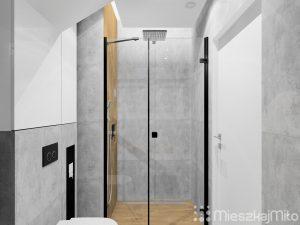 duży prysznic