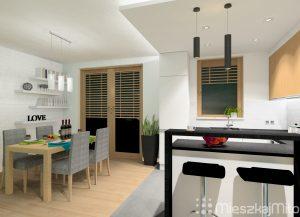 kuchni z salonem