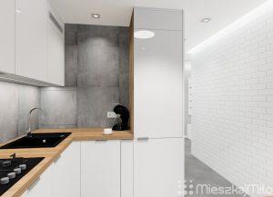 płytki na ścianie w kuchni