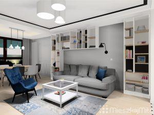 Projekt wnętrza mieszkania Warszawa