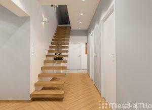 schody w przedpokoju