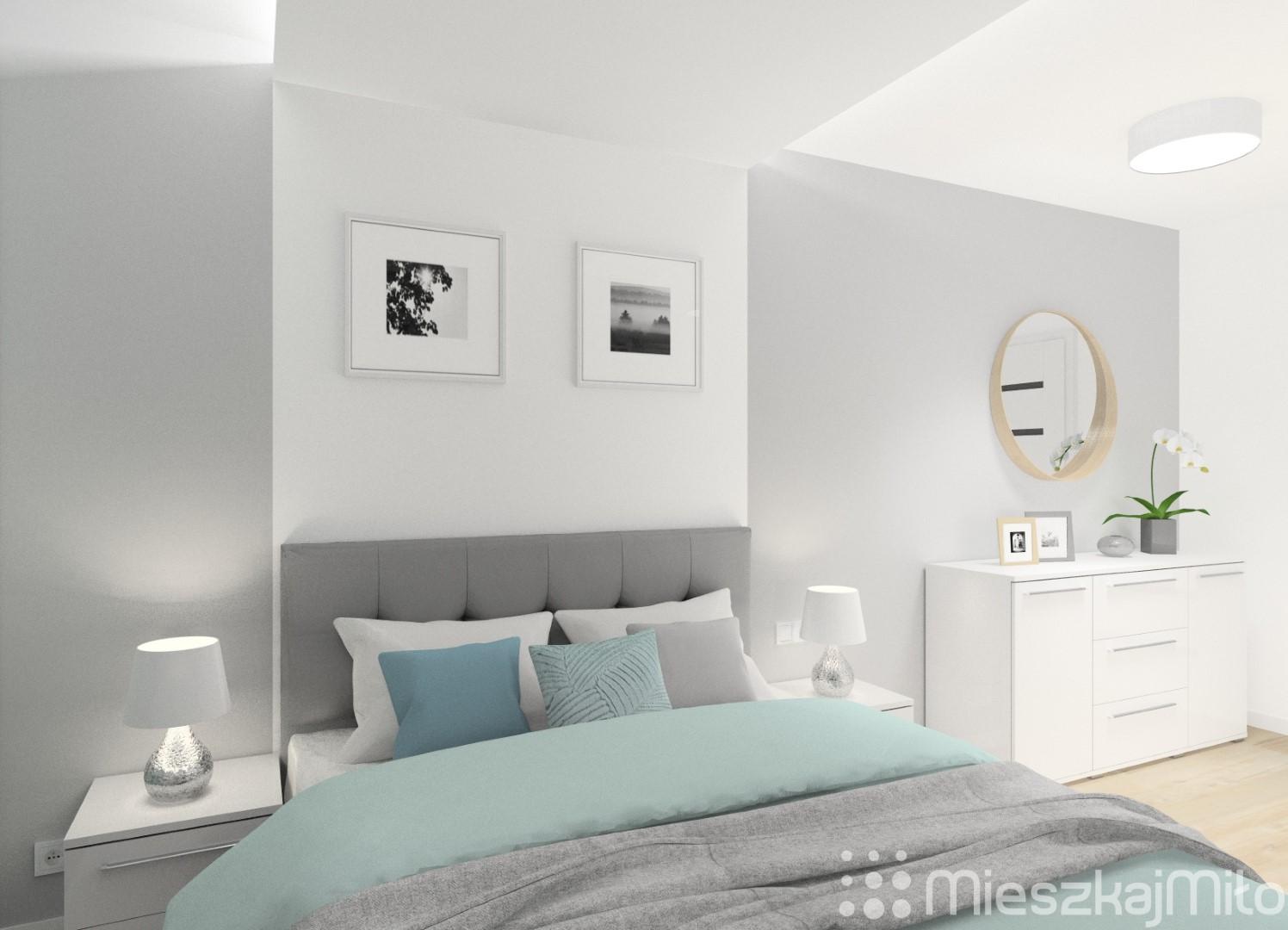 Projekt Wnętrza Mieszkania 62 M² Tychy Mieszkaj Miło
