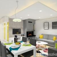 projekt salonu i kuchni