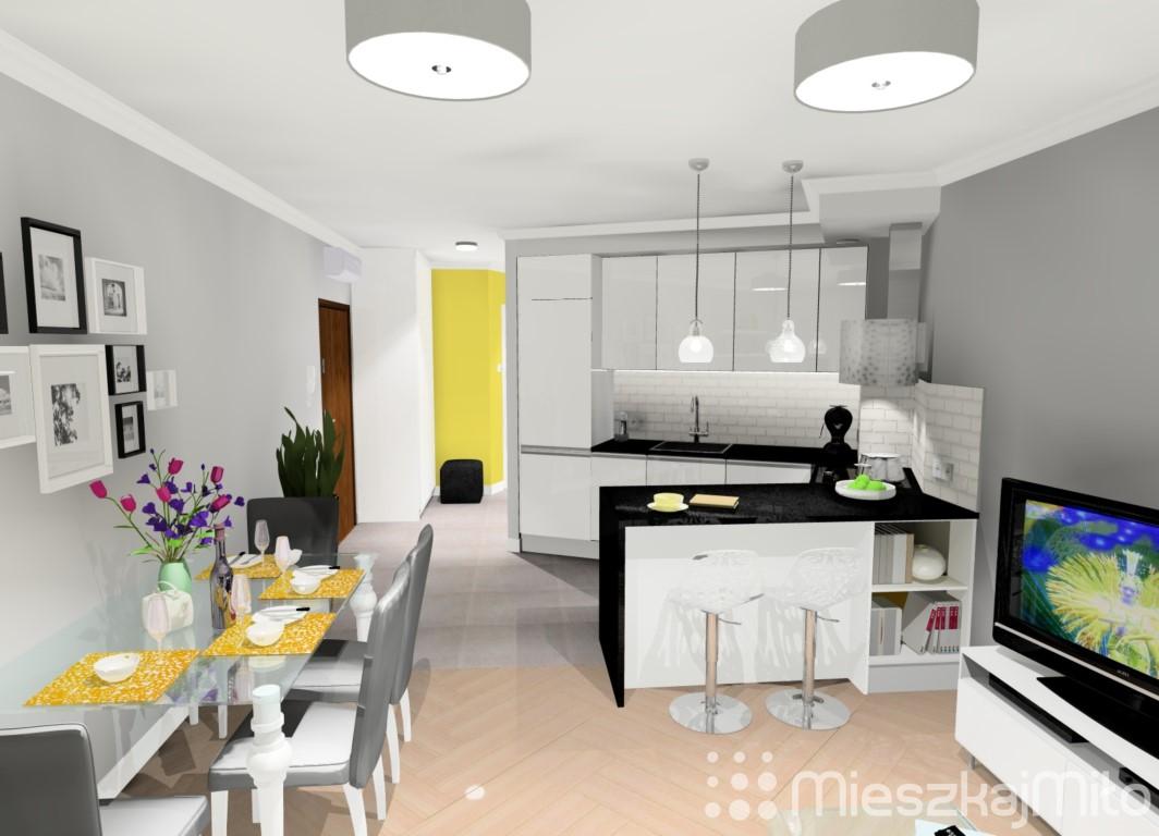 projekt aranżacji mieszkania 5882 m178 � osiedle wilno ii