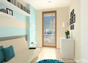jasny kolorowy pokój