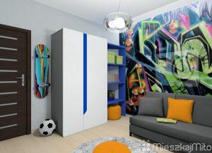 graffiti w pokoju