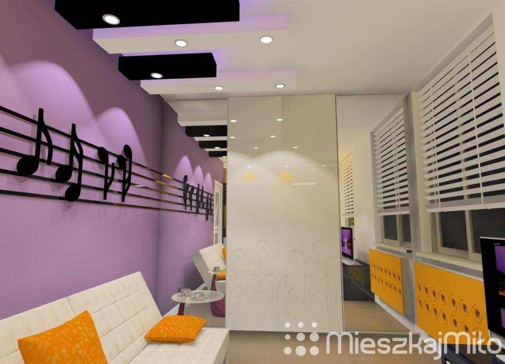 pokój muzyka