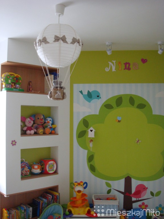 fototapeta w pokoju dziecka